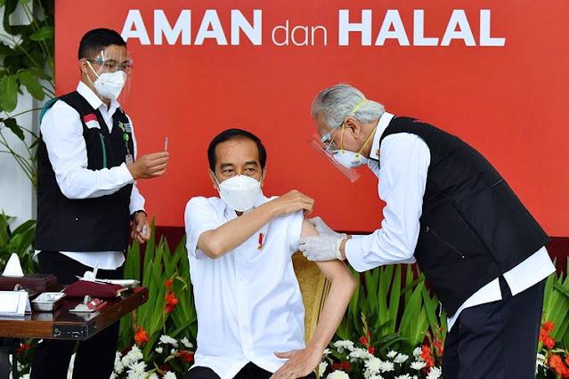 Jokowi: Jika 70% Warga Sudah Divaksin, Insyaallah COVID-19 Setop