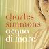 Acqua di mare di Charles Simmons diventa Il Libro dei Librai. Cercalo nelle librerie aderenti all'iniziativa