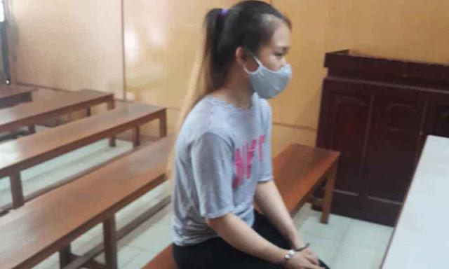 Bị cáo Trần Thị Thanh Quyên tại tòa