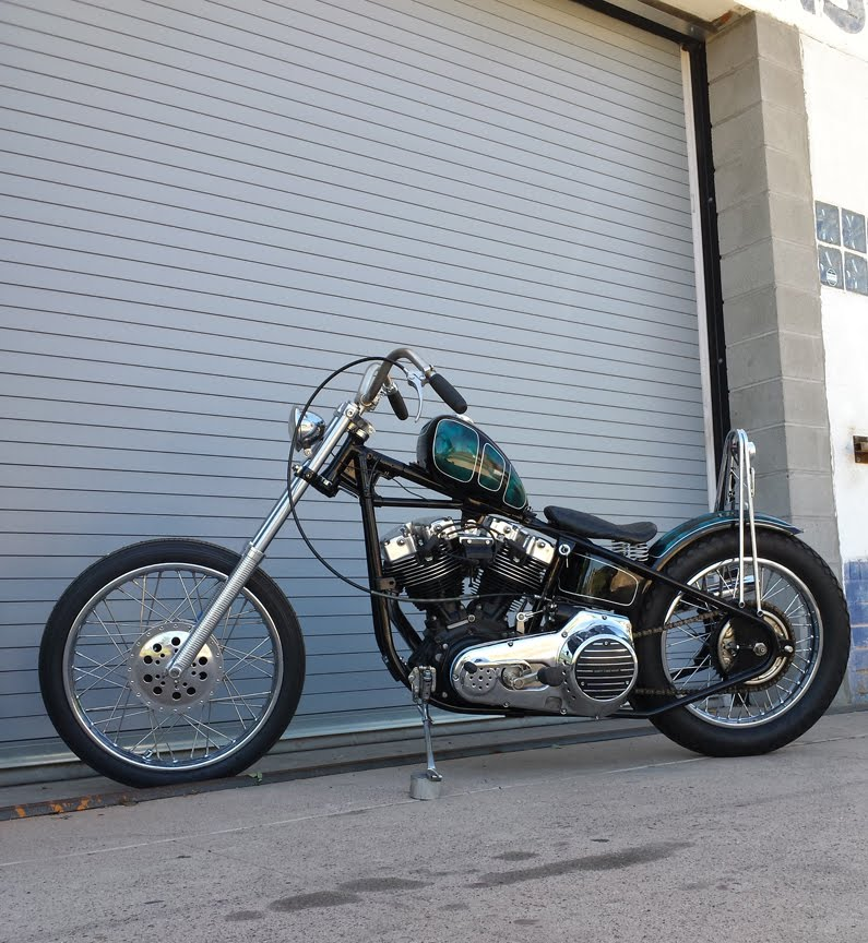 love cycles: Sportster chopper for sale 1965 XLCH