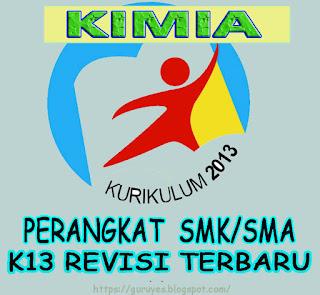 RPP Kurikulum 2013 Kimia kelas 10 SMA/SMK  Revisi 2018