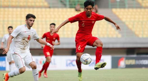 Timnas U-19 Kalahkan Iran 1-0 di Mandala Krida
