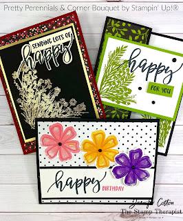 Corner Bouquet & Pretty Perennials by Stampin' Up!®