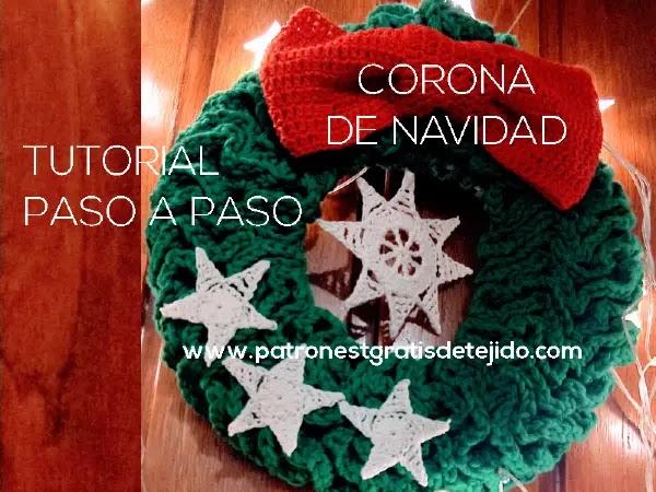 corona-crochet-navidad