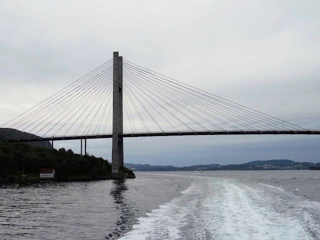 Nordhorda land bridge in Bergen
