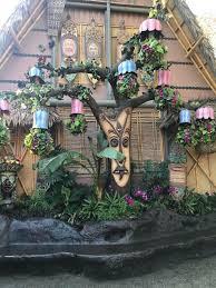 Disneyland, Enchanted Tiki Room, Tangaroa tree at the Tiki Room, Adventureland, Disney, Disneyland attractions, Walt Disney, tiki culture, tiki style, inspired by Disneyland