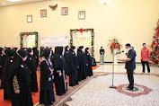 Pjs Gubernur Fatoni Lantik Pengurus Syiar Muslimah Indonesia Sulut Periode 2020-2023