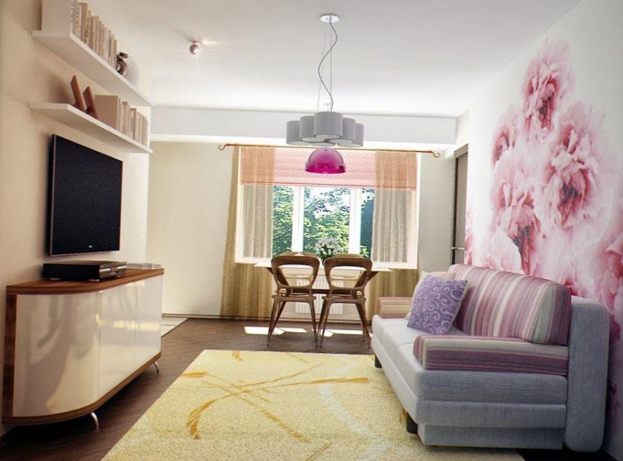 Хитрости дизайна маленькой гостиной