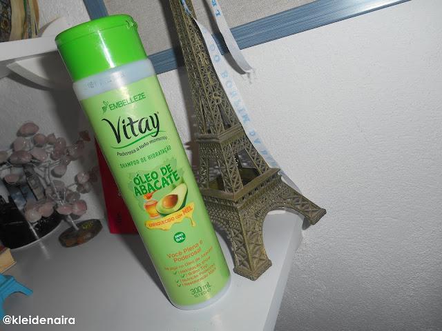 Shampoo Óleo de Abacate com Mel da Embelleze