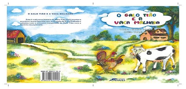 BAIXE EM PDF - O livro O Galo Tião e a Vaca Malhada