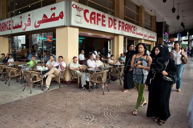 مقهى مغربي