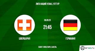 «Швейцария» — «Германия»: прогноз на матч, где будет трансляция смотреть онлайн в 21:45 МСК. 06.09.2020г.