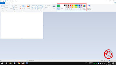 3. Selanjutnya silakan kalian pilih warnanya di bagian Colors