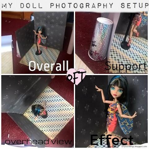 My Doll Photography Setup