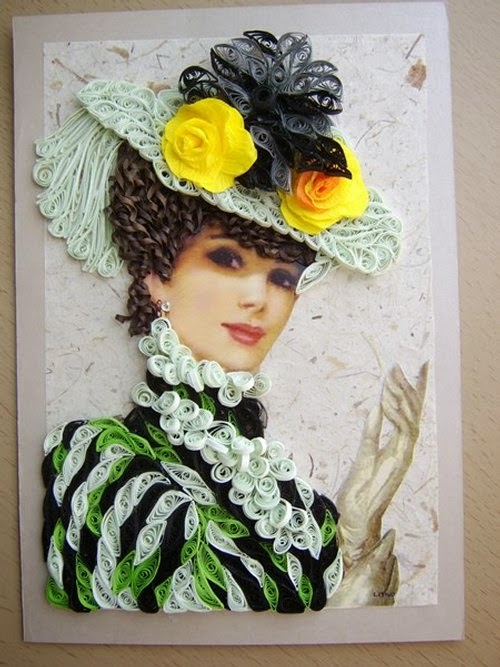 09-Eugenia-Evseeva-Quilling-Paper-&-Photo-Portraits-www-designstack-co