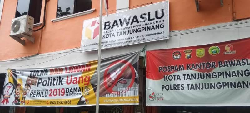 Siap Awasi Pilkada 2020, 18 Pengawas Kelurahan Se-Kota Tanjungpinang Dilantik