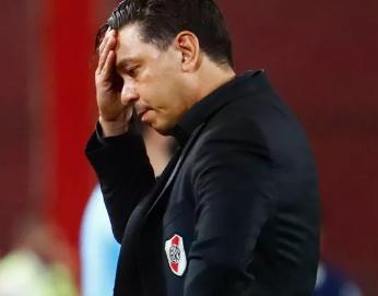 Eliminação na Libertadores - Gallardo