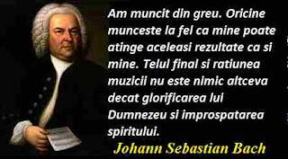 Maxima zilei: 21 martie - Johann Sebastian Bach