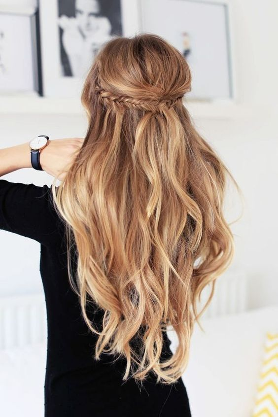 trendy hairstyle idea to copy this winter