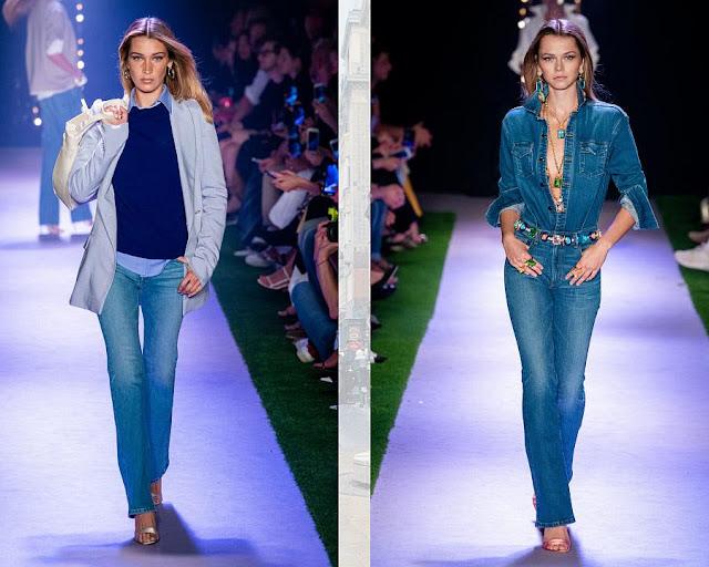 Модные джинсы классика 1