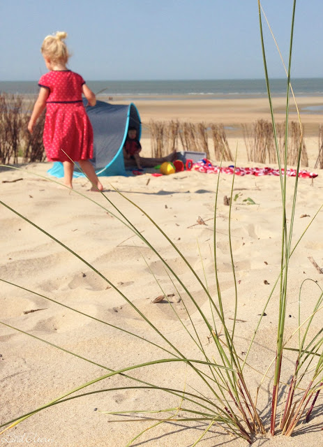 Stadtlandeltern - Urlaub - Belgien - Sandstrand