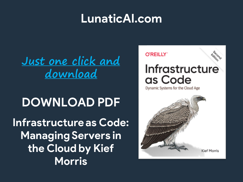 Infrastructure as Code, 2nd Edition PDF