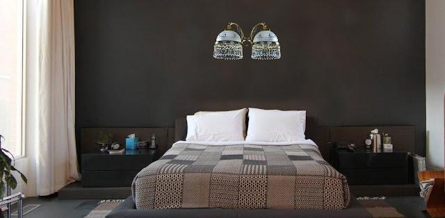 Cách bố trí đèn tường trang trí phòng ngủ hợp lý ấn tượng
