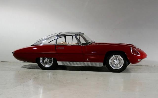 Alfa Romeo 6C 3000 Superflow 1960s Italian concept car