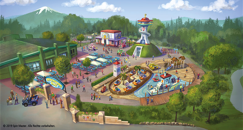 868fc8f3 VIMN is adding a PAW Patrol-themed zone (pictured) in Nickland at Movie Park  in Germany called Adventure Bay that's slated to open in May 2019.