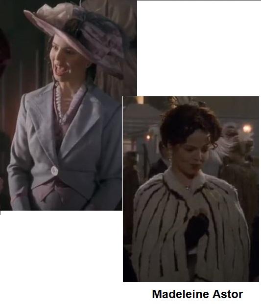 Madaleine Astor em Titanic 1996