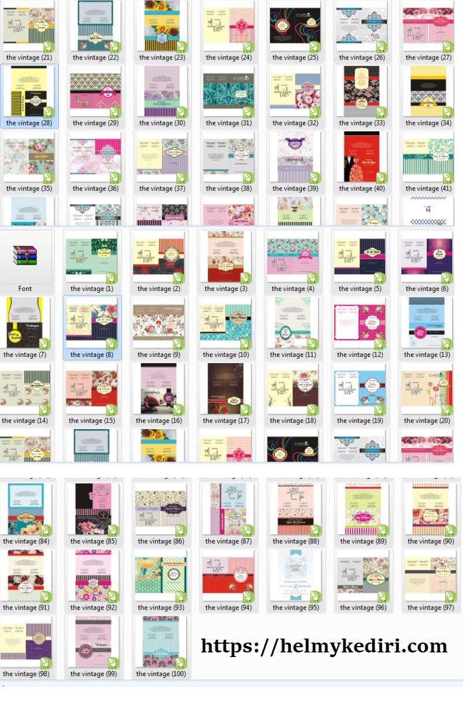 Download 100 Desain Template Undangan Pernikahan Gratis Blog Orang It