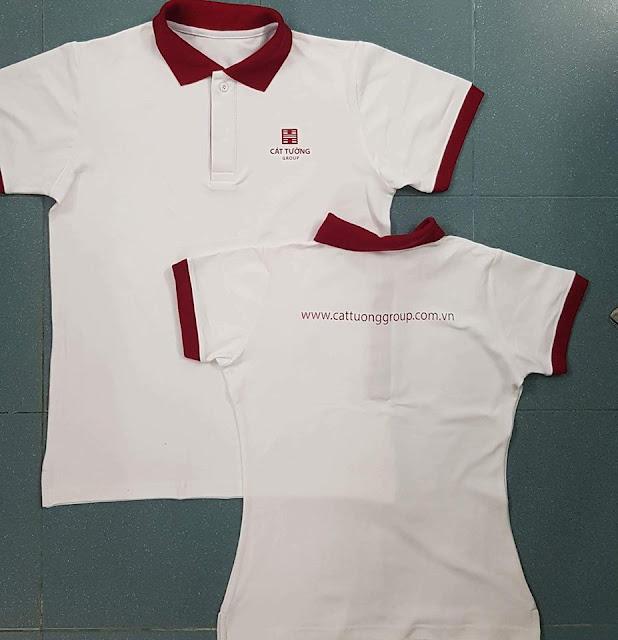 Áo thun đồng phục có cổ, áo thun đồng phục nhóm, mẫu áo thun đồng phục đẹp nhất năm 2019