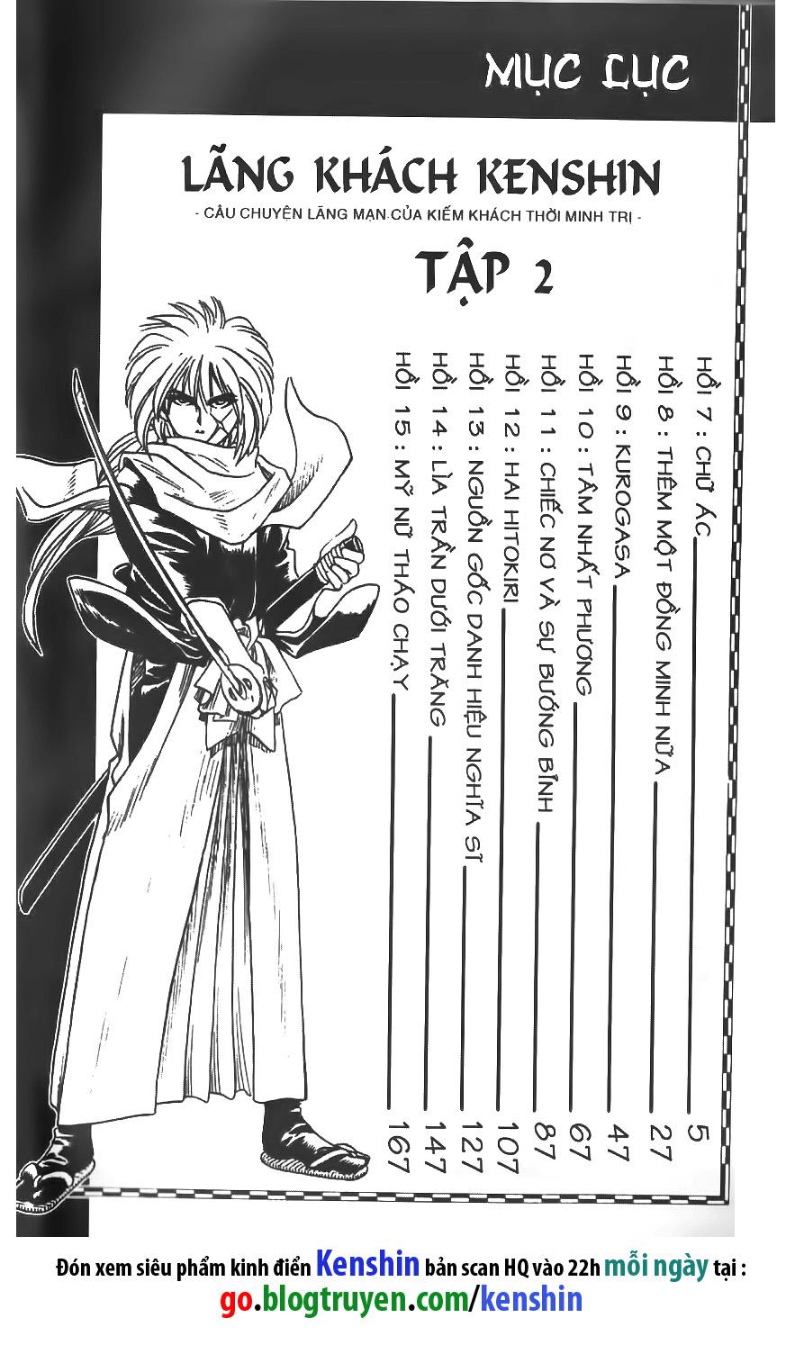 Rurouni Kenshin chap 7 trang 1