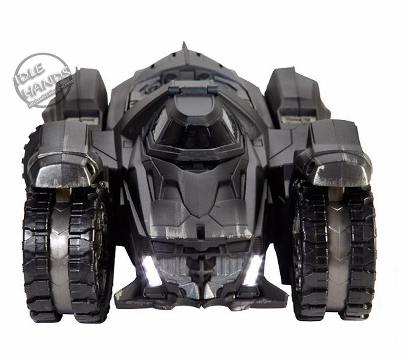 San Diego comic-con 2014 Batman Arkham Knight Batmobile DC Multi-Univers Mattel exclusives!!!