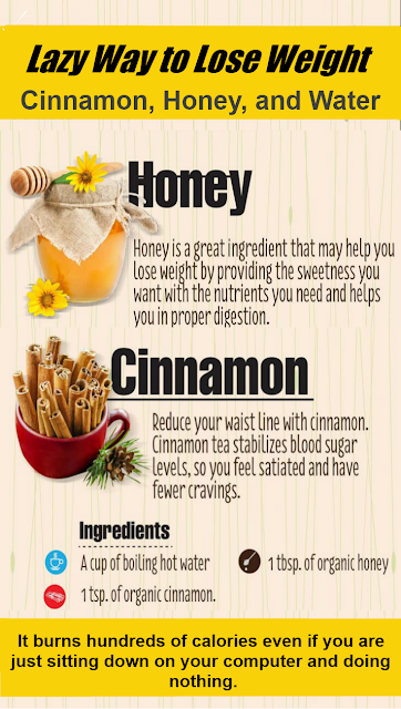 Women's Fit: Lazy Way to Lose Weight: Cinnamon, Honey, and ...