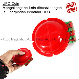 Jual alat sulap UFO Coin