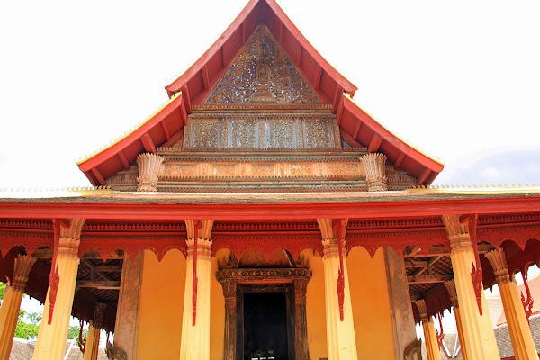 Sala de Ordenacion - Templo Sisaket - Vientian - Laos