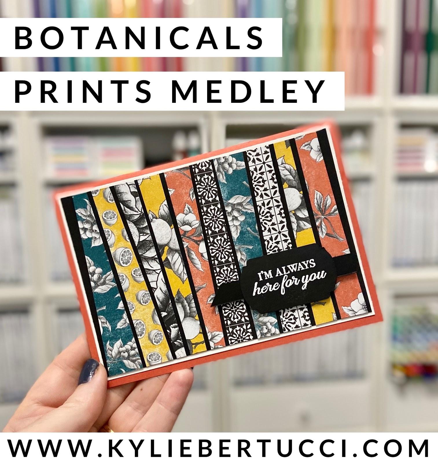 All Star Tutorial Bundle Design Team Blog Hop April 2020 | Botanicals Print Medley