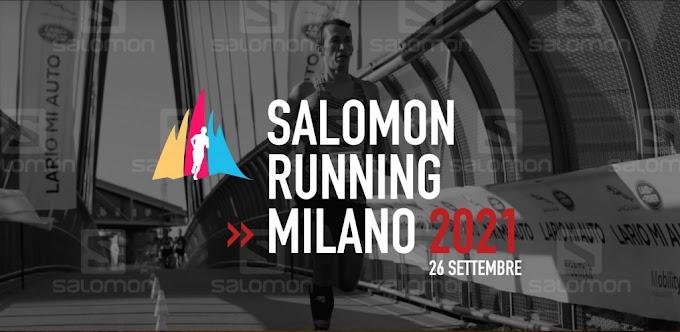 Sport. Arriva la Salomon Running Milano: si corre dal 26 settembre