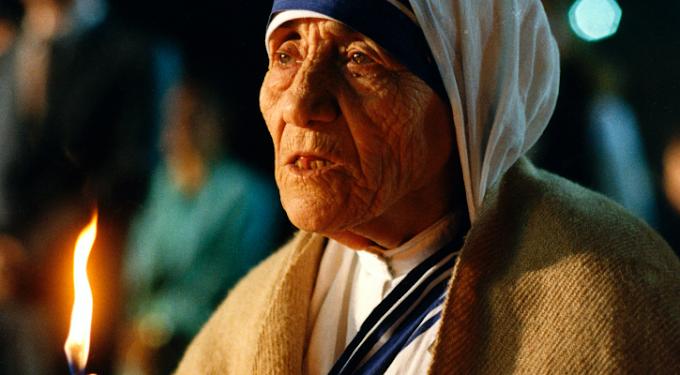 Risorgere con Cristo - Resusciter avec le Christ (Madre Teresa)