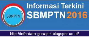 Panduan Cara Daftar SBMPTN 2016