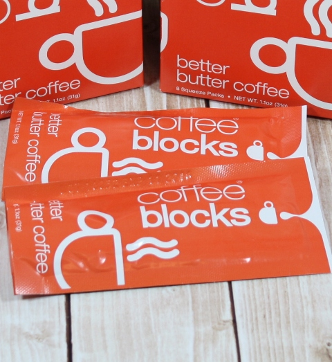 buttered coffee blocks