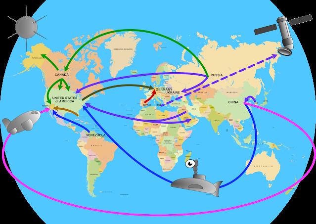 Arizona world interference conspiracy map
