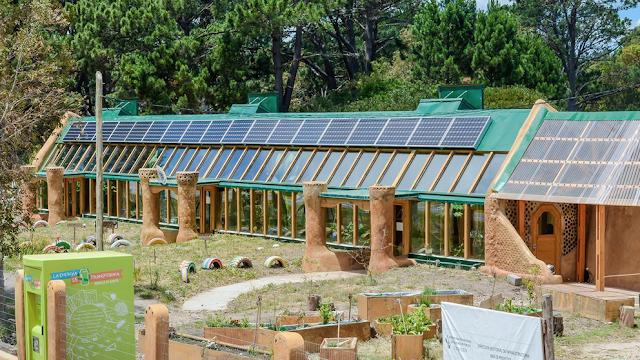 Un colegio muy ecológico en Uruguay