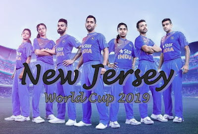 India New Jersey 2019 for World Cup