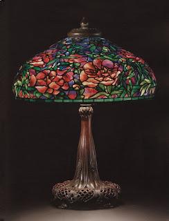 Lámpara Peony de 1905 Christie´s