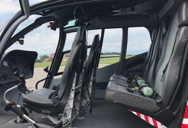 Eurocopter EC120 interior