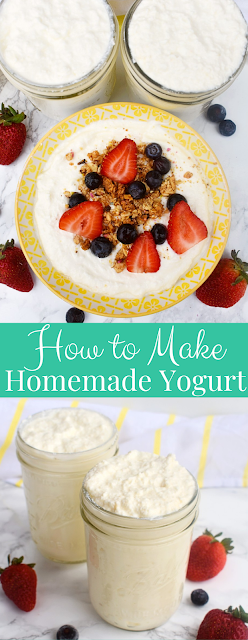 A step-by-step tutorial on how to make homemade yogurt on the stovetop.