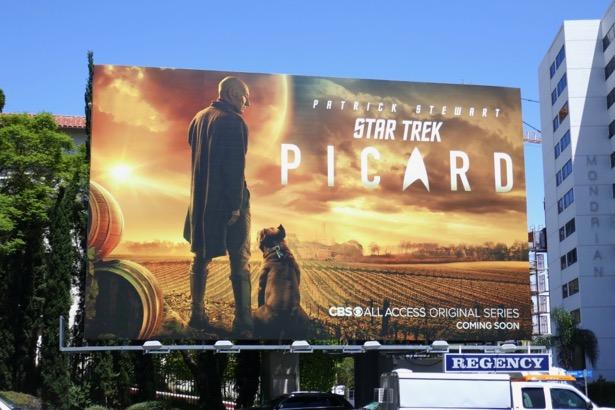 Star Trek Picard series billboard