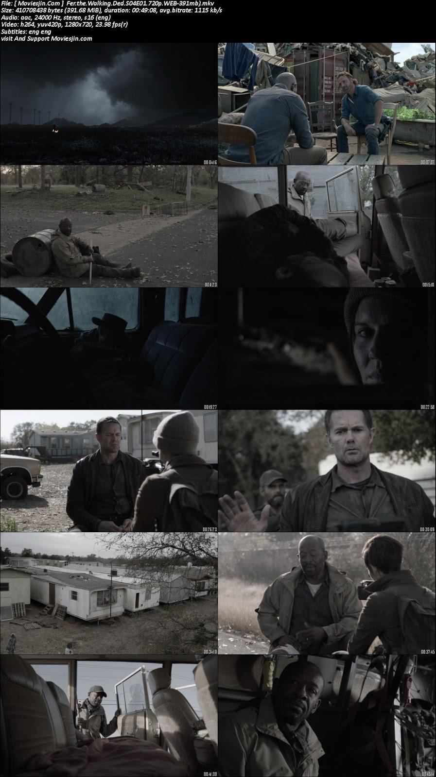 Watch online Fear the Walking Dead S04E01 WEBRip 720p ESub 390MB downloadhub